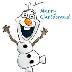 Olaf Merry Christmas! by Creationmist