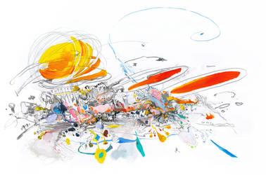 Architectural Space Abstract by filip-kurzewski