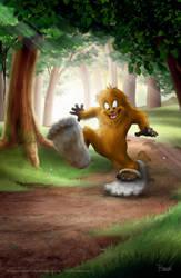 Little Bigfoot...big steps! by darrinbrege
