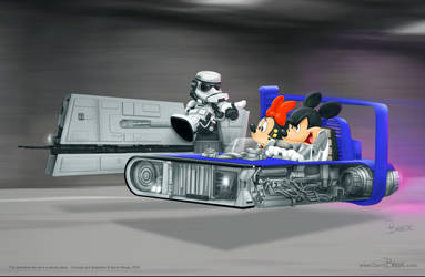 Mickey Solo Mash-up by darrinbrege