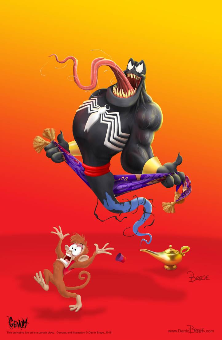 Venom Genie mash up - GENOM by darrinbrege