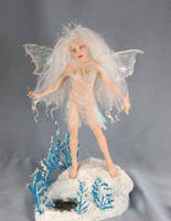 Winter fairy by polymer-people