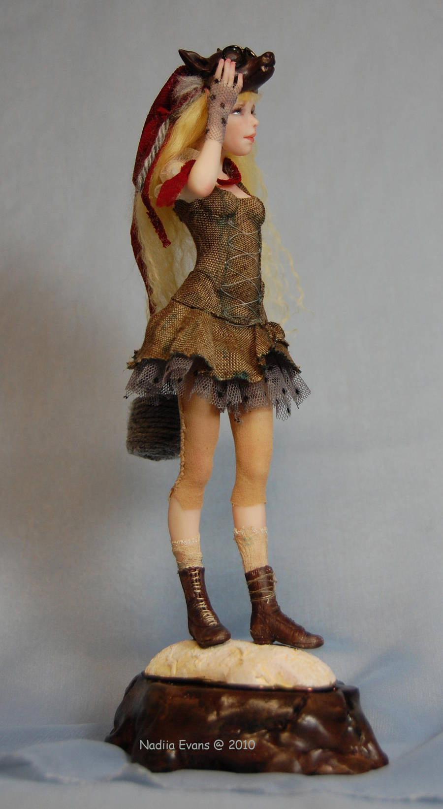 Red Riding Hood  2010 by polymer-people