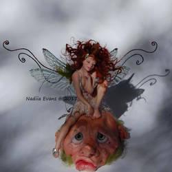 faerie Taryn goblin Gragkhom by polymer-people