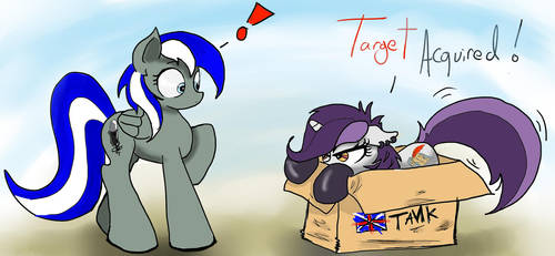 Target Acquired by TuxedoStalllion