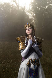 Princess Zelda Cosplay 2 by Sparqy