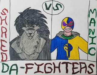 DeviantArt Fighters: Shred V.S Manic Bulbs by ManicBulbs