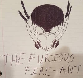Inktober: The Furious Fire-Ant (SUPER!) by ManicBulbs