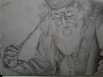 albus dumbledore by isabelicious
