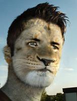 Lion man by MasterGnu