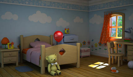 strawbery room by dwiirawan