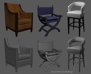 furniture modeling by dwiirawan