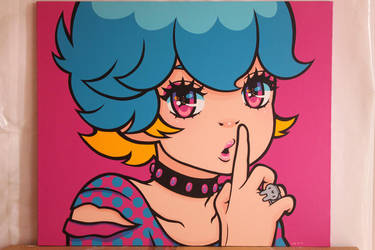 Seven Colors Series - MEDIUM MAGENTA by madoka07
