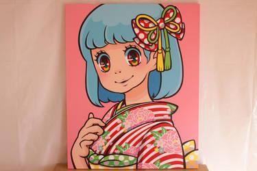 Madoka Kinoshita Canvas art '2017' by madoka07