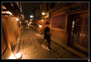Gion Back Street II by tensai-riot