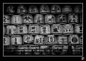 Sake WALL by tensai-riot