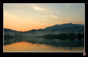 Ike sunset by tensai-riot