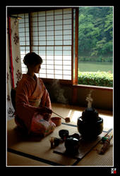 Kyoto Tea Time by tensai-riot
