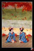 Maiko Dance by tensai-riot