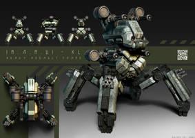MAMU-XL - Heavy Assault Frame by FrostKnight-IcE