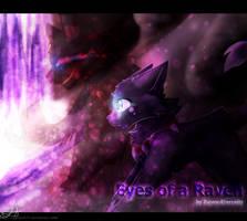 Eyes of a Raven {Fanart}+Speedpaint by Angelpaw33