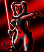Darth Talon: Sith Beauty by SweetLittleAki