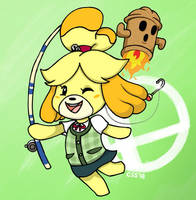 ISABELLE TURNS OVER A NEW LEAF by CinSensura