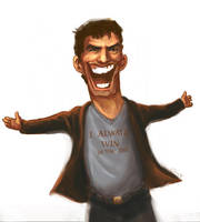 Tom Cruise by Poschki