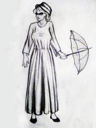 Girl_with_Umbrella by HamidForEver
