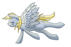 Derpy by thepiplup
