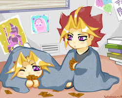 the boys at home by yatemugirl