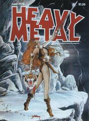 HEAVY METAL ART by JODEPU