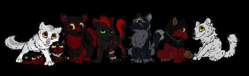 Wolfszeit Lostgroup by Thyria