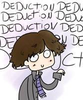 Sherlock loves deduction by dinosauriomutante