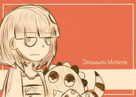 Evangeline and Dinosaurio Mutante IV by dinosauriomutante