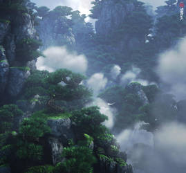 The Wind Valley, scene 01 by shtl