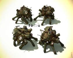 Yadokari Tank v2 by shtl