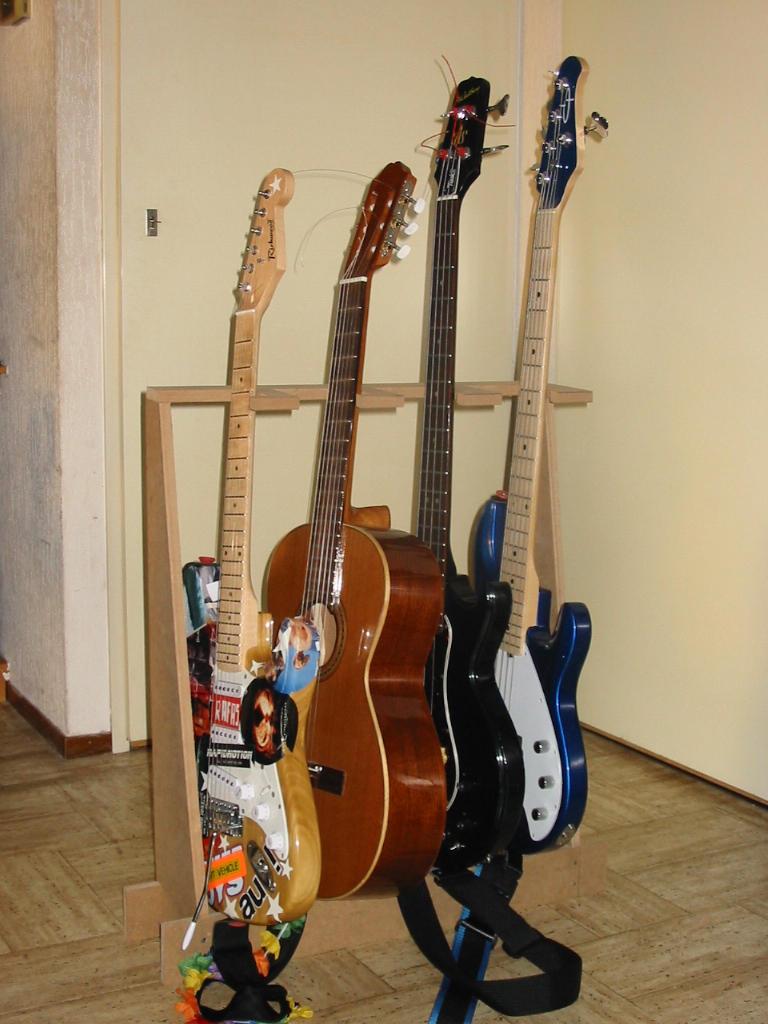 My Homemade Guitar Stand By Rafas On Deviantart