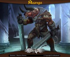 Moonga - Minotaur Berserker by moonga