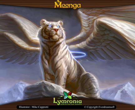 Moonga Mystical White Tiger By Moonga On Deviantart