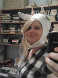 Fionna cosplay in progress by KittyCatHat