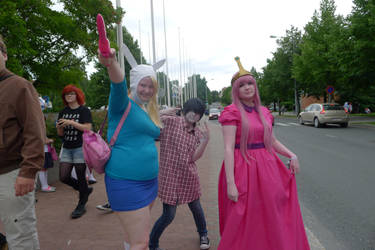 It's Adventure time!! by KittyCatHat