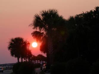 Charleston Sunset by sandcastler