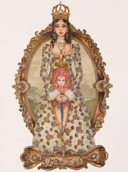 The love of kings: Anne Boleyn by Astera-T