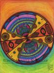A tribalistic sort of mandala? by cybelemoon