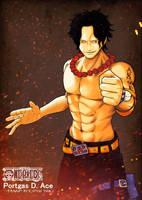 Fire Fist Ace by jokochimaru