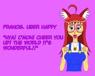 Francis. Uber happy by limaneko