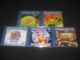 Dreamcast Games by Abby-Fennec