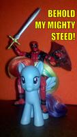Deadpool's pimp ride, yo by SnowflamePony