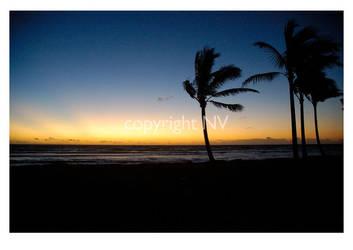 Hawaii Sunset No. 1 by crazycroat
